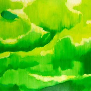 Bergschleier Ⅲ, 2017 | Oil on canvas | 190 × 260 cm