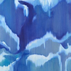 Bergschleier Ⅴ, 2018 | Oil on canvas | 150 × 120 cm