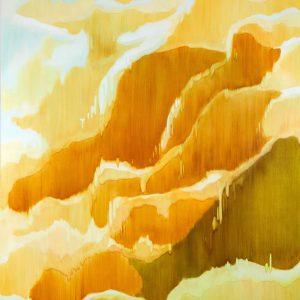 Bergschleier Ⅸ, 2018 | Oil on canvas | 250 × 210 cm