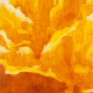 Koshikake Gebirge Ⅰ, 2017 | Oil on canvas | 250 × 210 cm