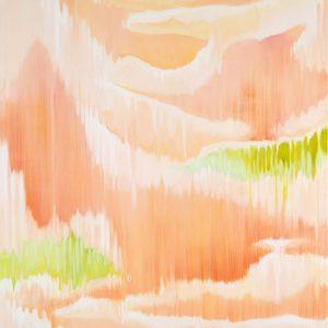Rüschengebirge Ⅱ, 2018 | Oil on canvas | 150 × 130 cm
