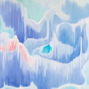 Rüschengebirge Ⅲ, 2018 | Oil on canvas | 150 × 130 cm