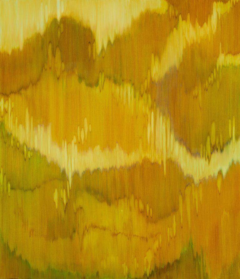 Bergschleier Ⅵ, 2018⎥Oil on canvas⎥150 × 130 cm