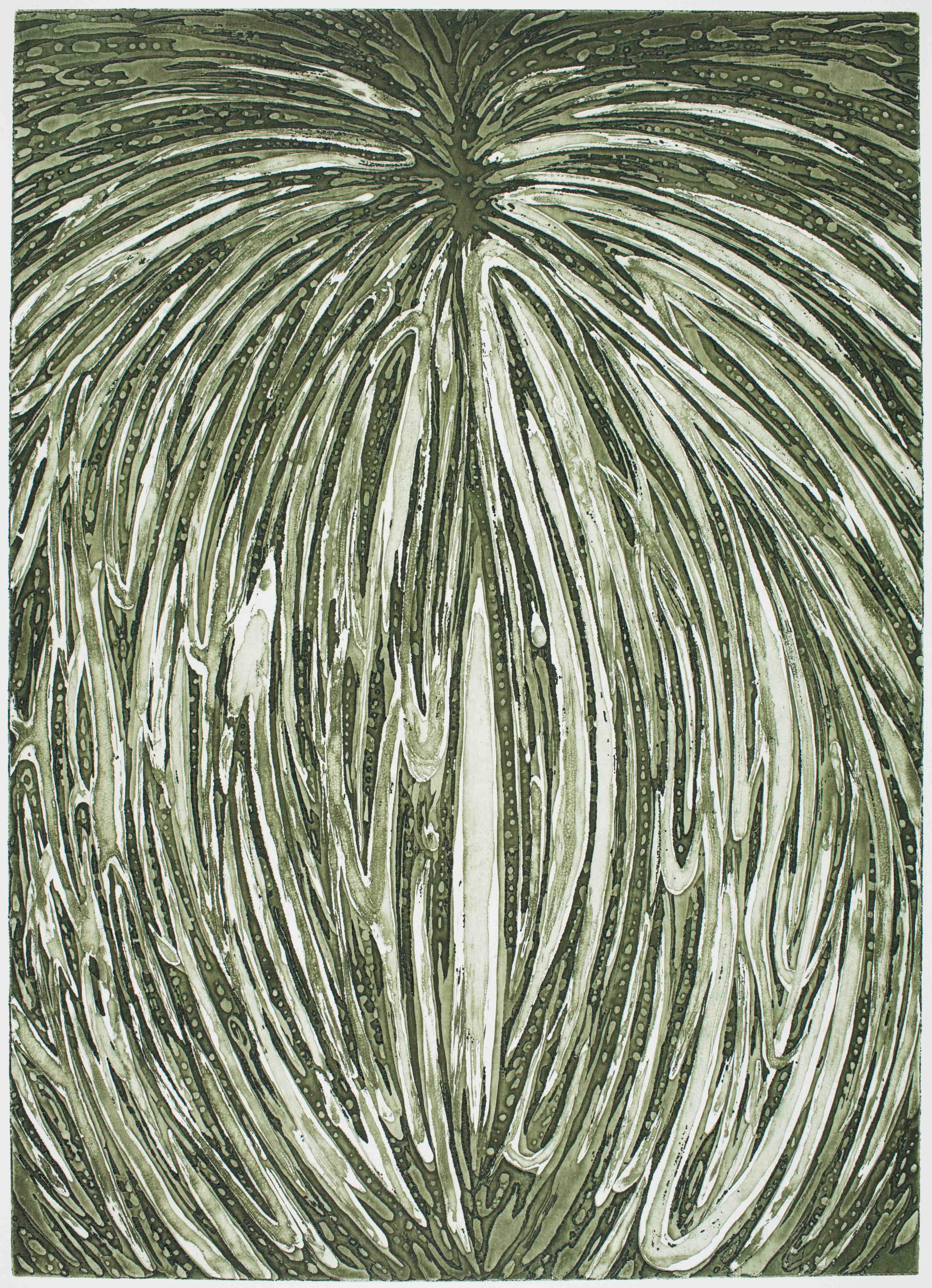 Erntetapser Ⅲ, 2017 | etching: sugar lift, open bite | 42 × 30 cm