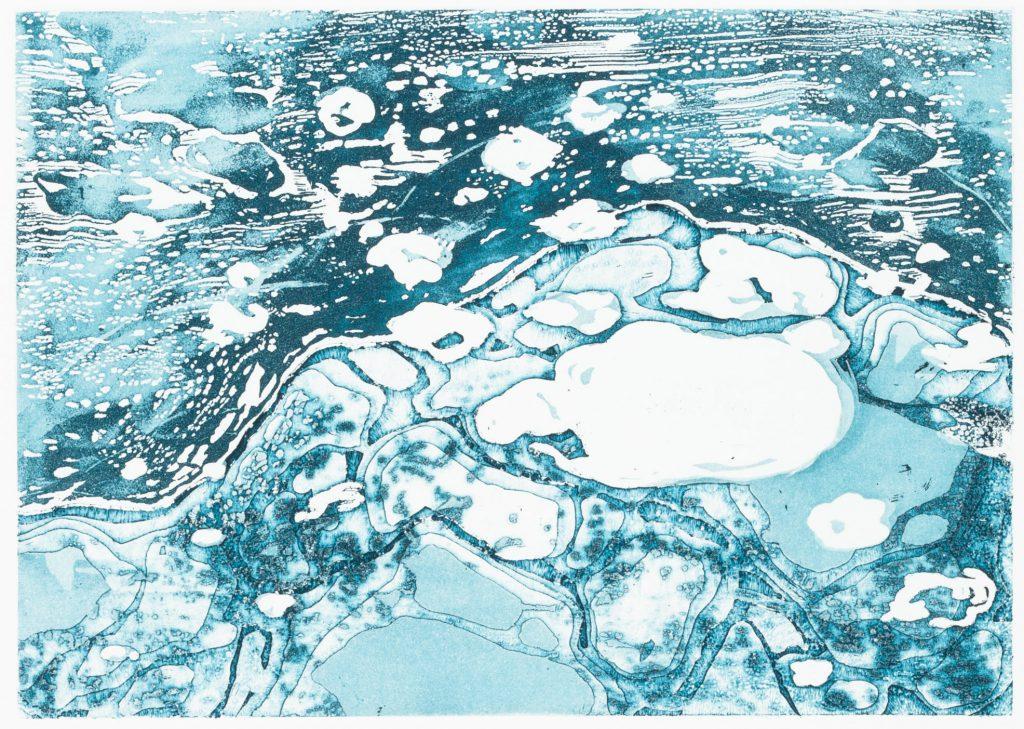 Suomi, 2016 | etching: sugar lift, open bite, aquatint | 16 × 22,6 cm