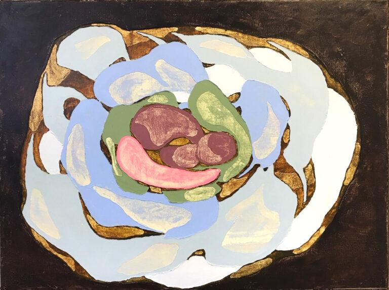 Kosmosstein Ⅱ, 2020 | Oil on canvas | 60 × 80 cm